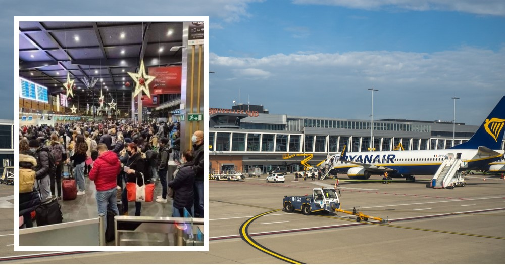 Charleroi: luchthaven worstelt met coronamaatregelen