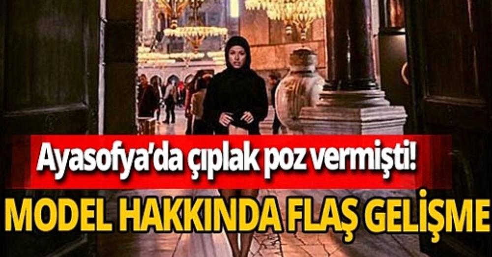Belgisch naaktmodel dat in Hagia Sofia poseerde riskeert 7 jaar cel in Turkije