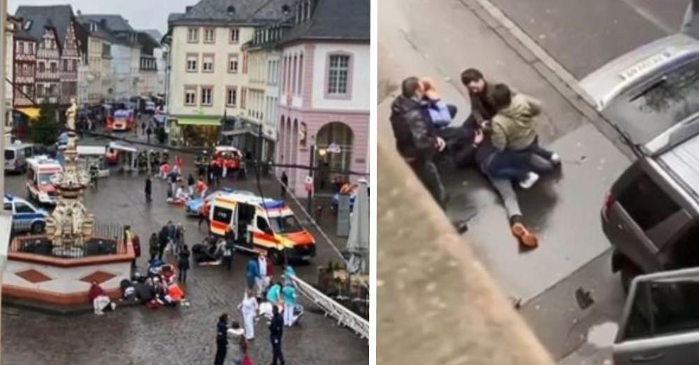Aanslag Trier: vijf doden waaronder een baby, 51-jarige Duitser opgepakt