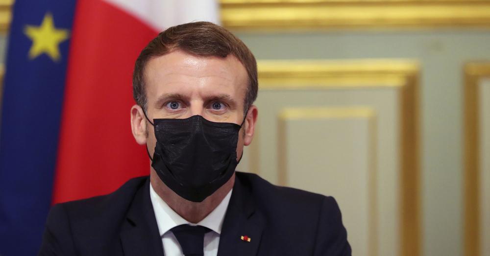 Macron heeft corona