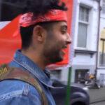 Palestijnse vluchtelingen vallen mensen lastig in Antwerpse Joodse wijk