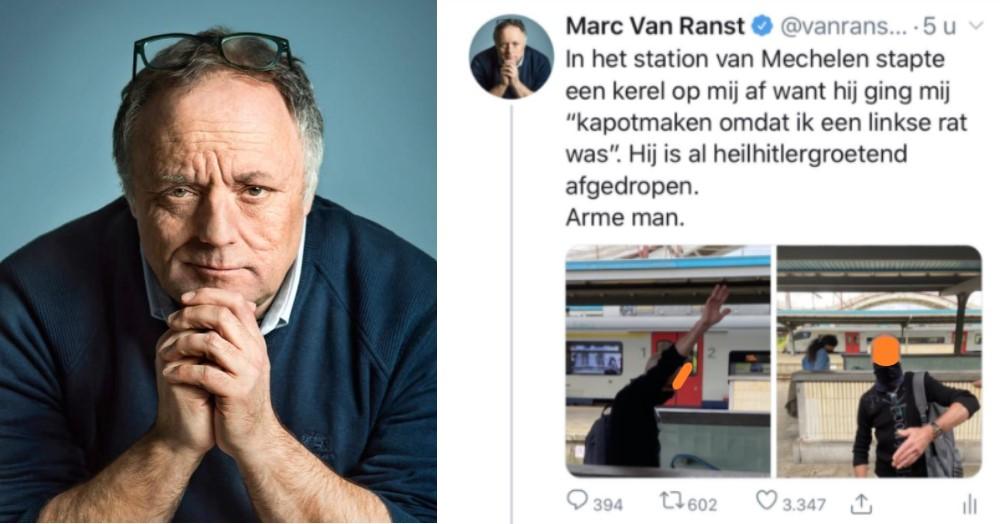 Van Ranst stak middenvinger uit en blokkeerde twee maal trein bij incident in Mechelen
