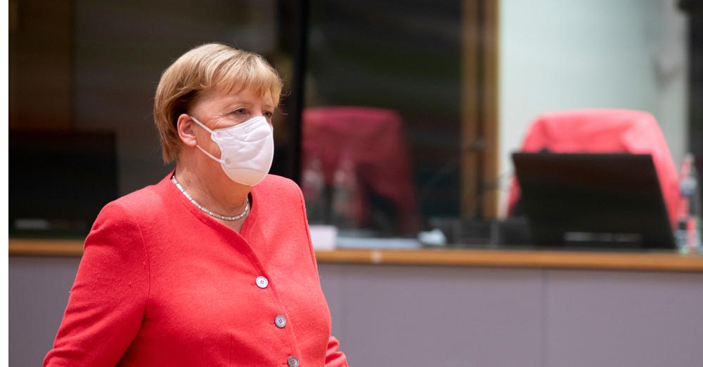 Merkel geen voorstander van Twitter-ban Trump