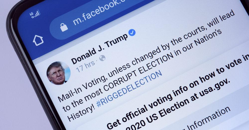 Facebook en Instagram schorsen Trump minstens voor rest ambtstermijn
