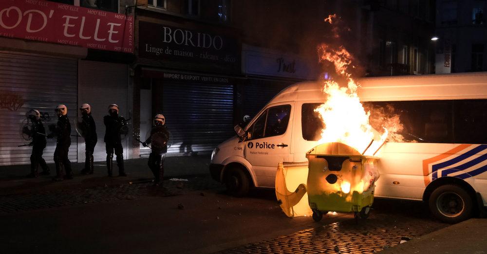 Verdachten Brusselse rellen alweer vrijgelaten wegens 'gebrek aan bewijs'
