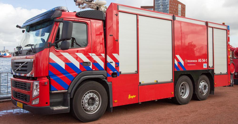 62-jarige Rotterdammer sterft in aangestoken brand, 27-jarige verdachte aangehouden