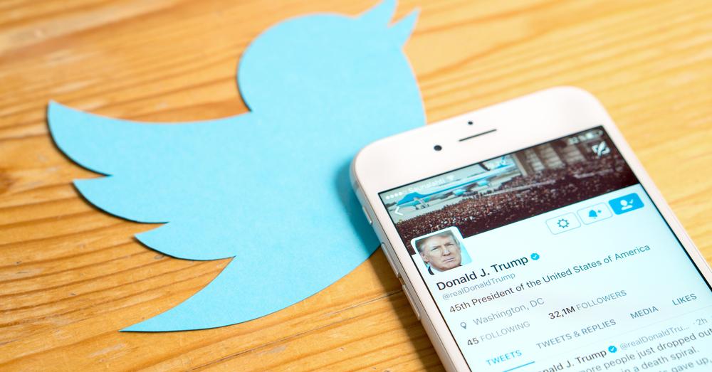 Aandelen Twitter blijven dalen na verbannen Trump