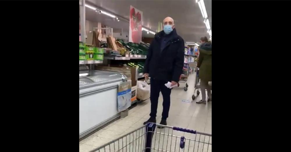 Man gaat door het lint in Aldi-winkel: