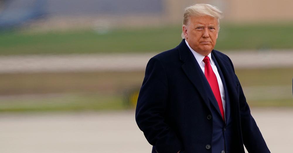 Trump geeft nederlaag toe en veroordeelt geweld