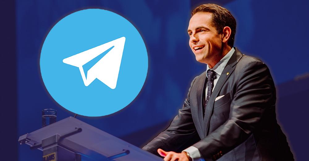 Vlaams Belang start Telegram-kanaal: