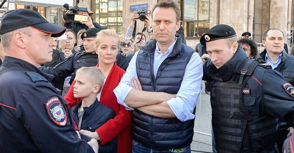 Russische oppositieleider Navalny krijgt 3,5 jaar cel
